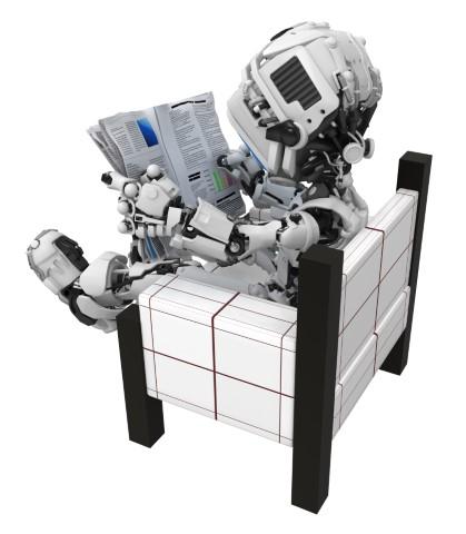 robot-reading-newspaper-chair