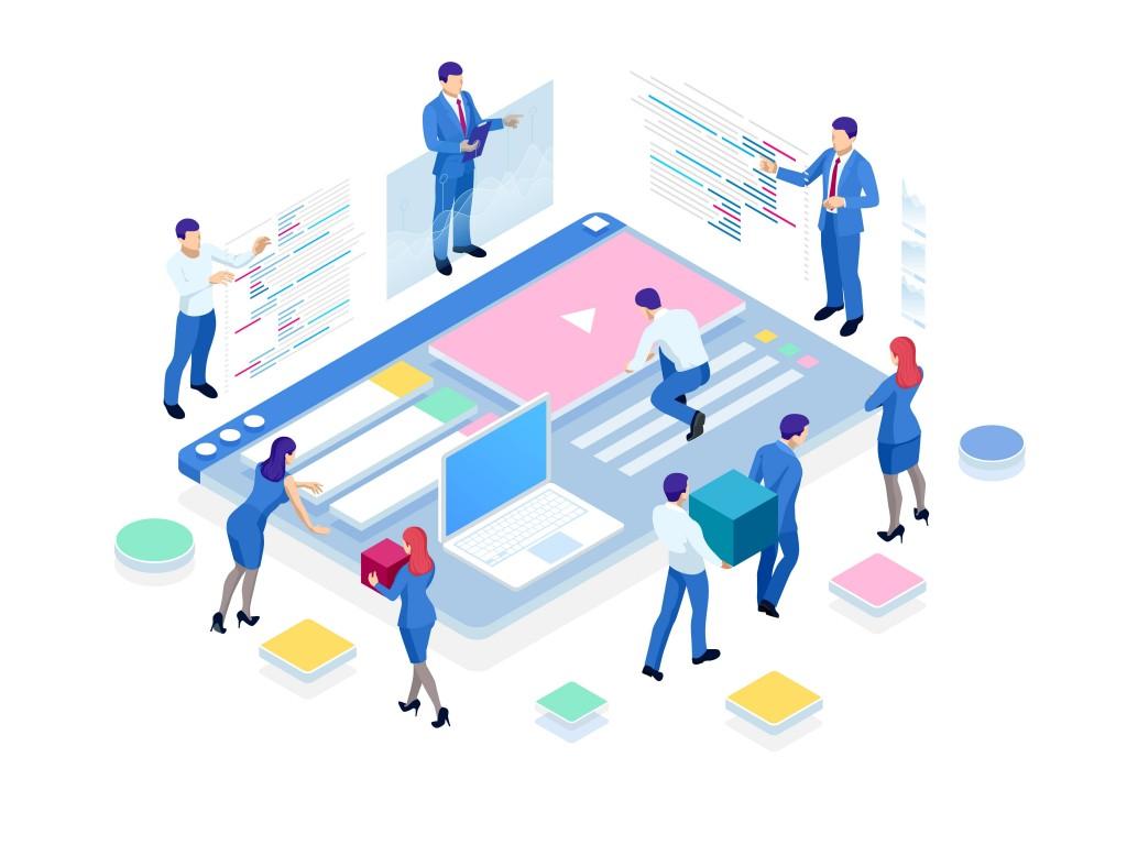 Digital content team