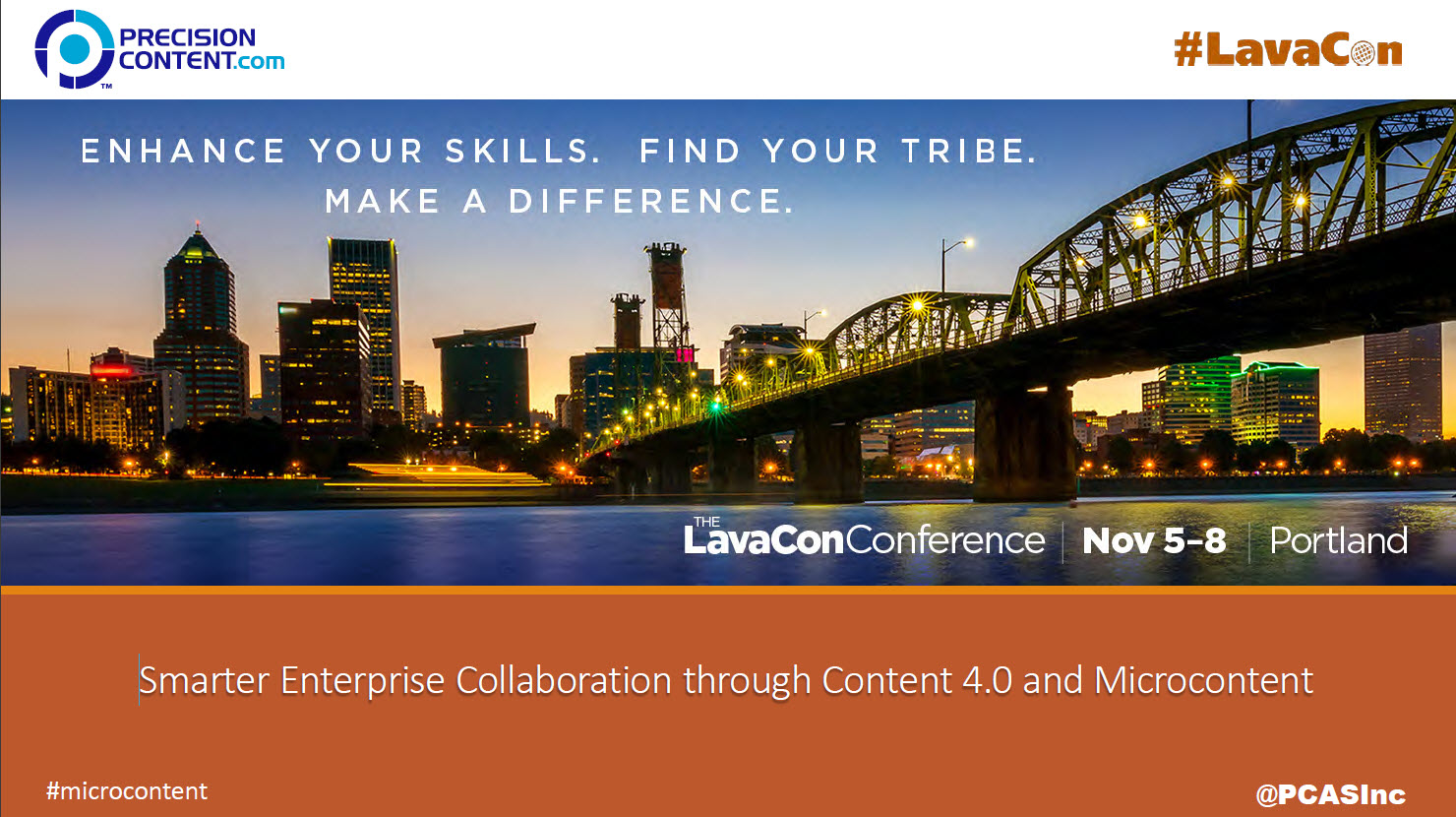 LavaCon17-presentation-microcontent-Nov-7-2017