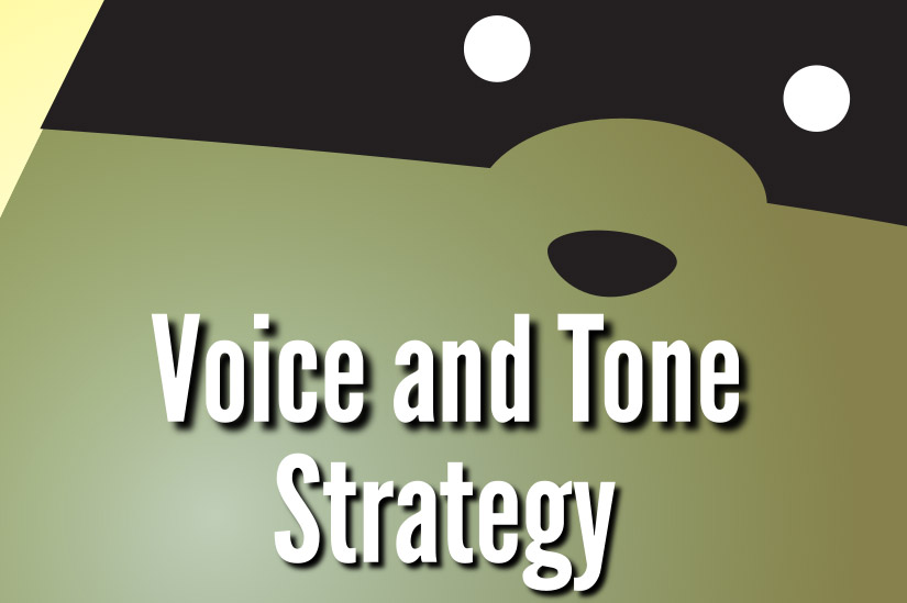 Voice and Tone Strategy book cover
